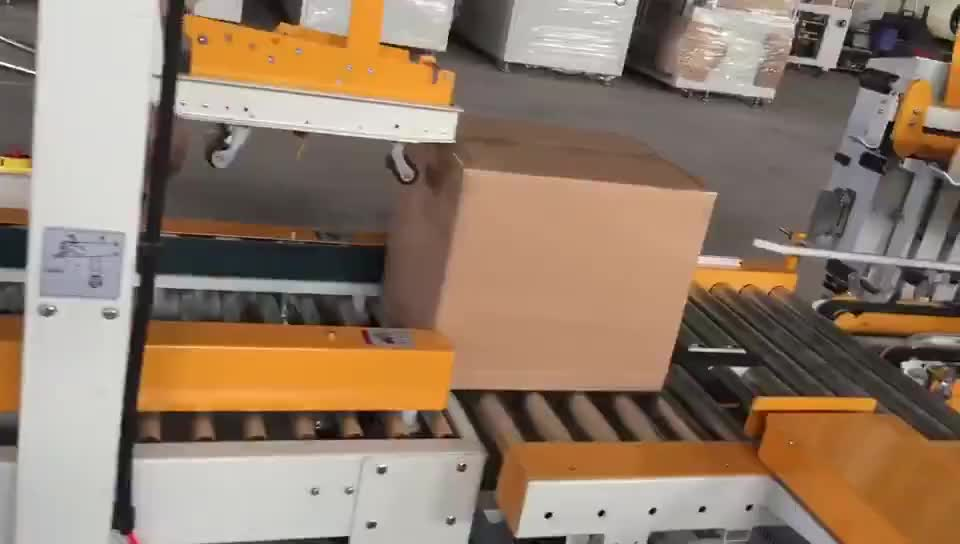 2 Hours Reply Drive Fully Automatic Paper Carton Edge Sealing Machine