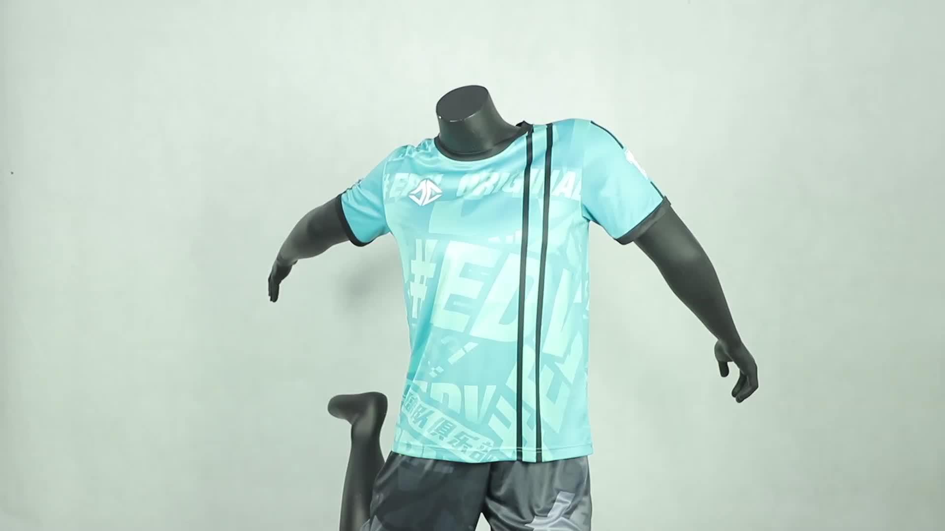 Top kwaliteit team voetbal jersey groothandel
