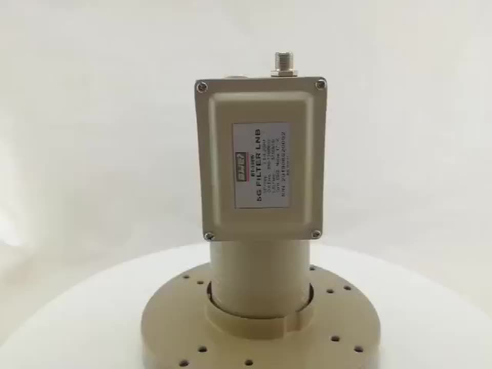 5G Filter Anti-interference C band lnbf with singal output with input 3.8-4.2GHz