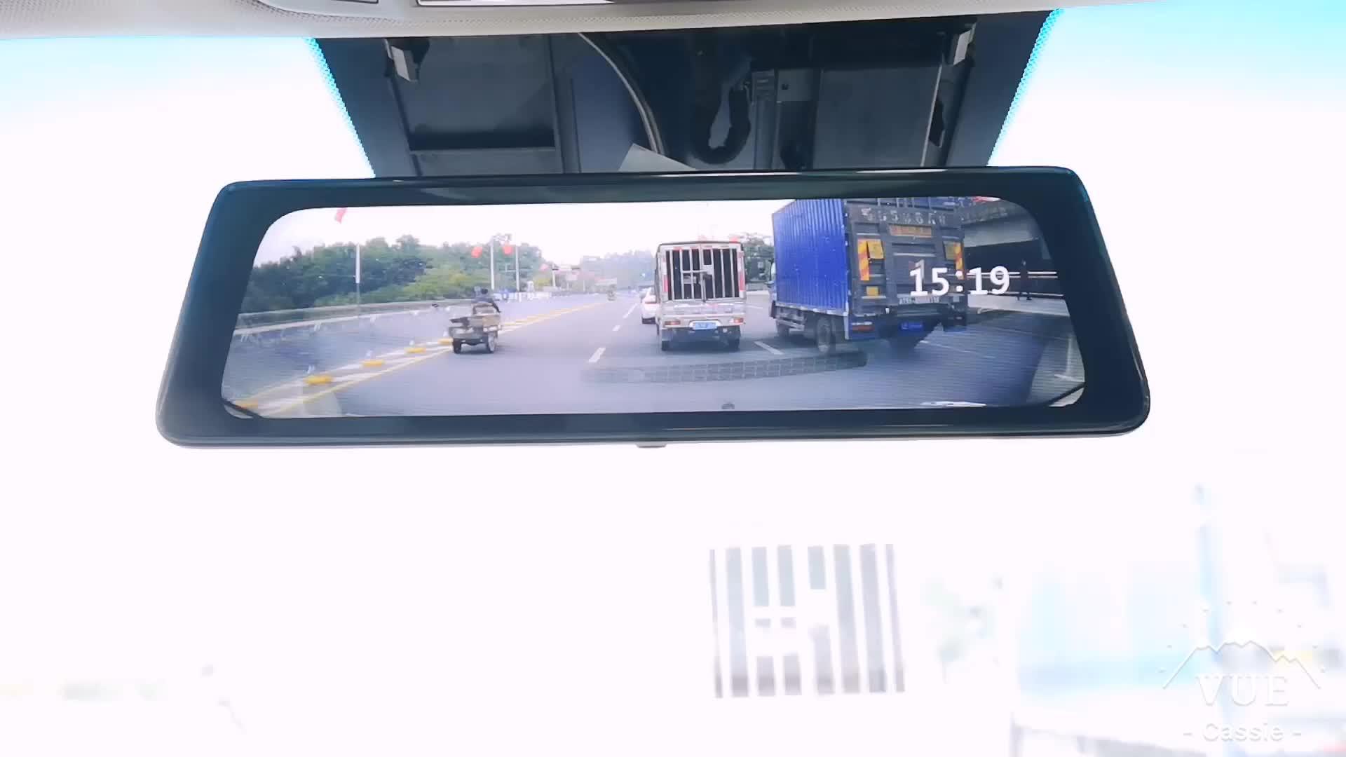 2 カメラダッシュカムナイトビジョン赤外線ユーザーマニュアル fhd フル hd 1080 p ビデオレコーダー dvr 車のミラーカメラ熱イマジン