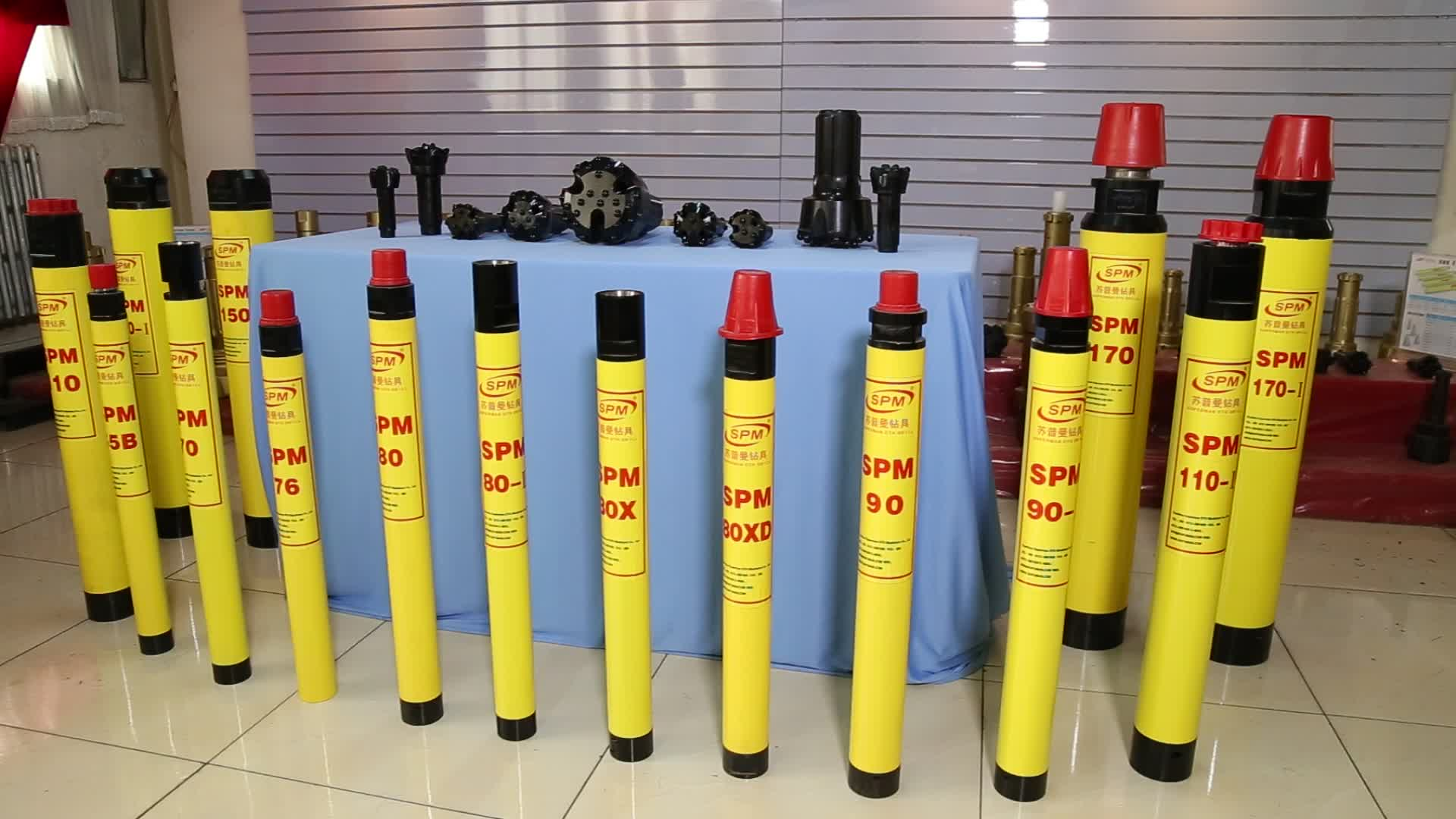 SPM110 CIR110 110mm  Low air pressure down the hole downhole DTH Hammers