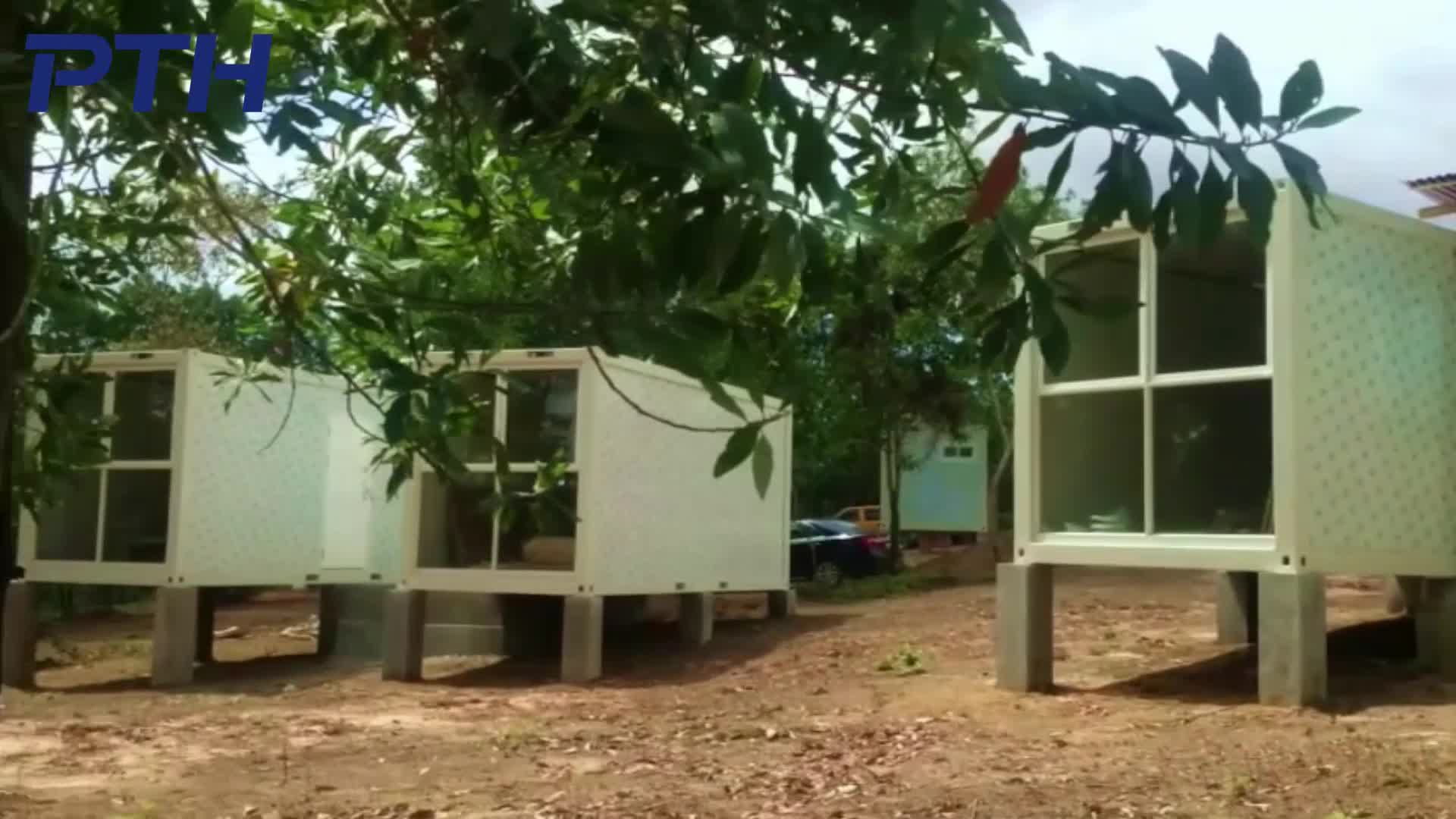 PTH prefabricated modular container house for mining camp/accommodation