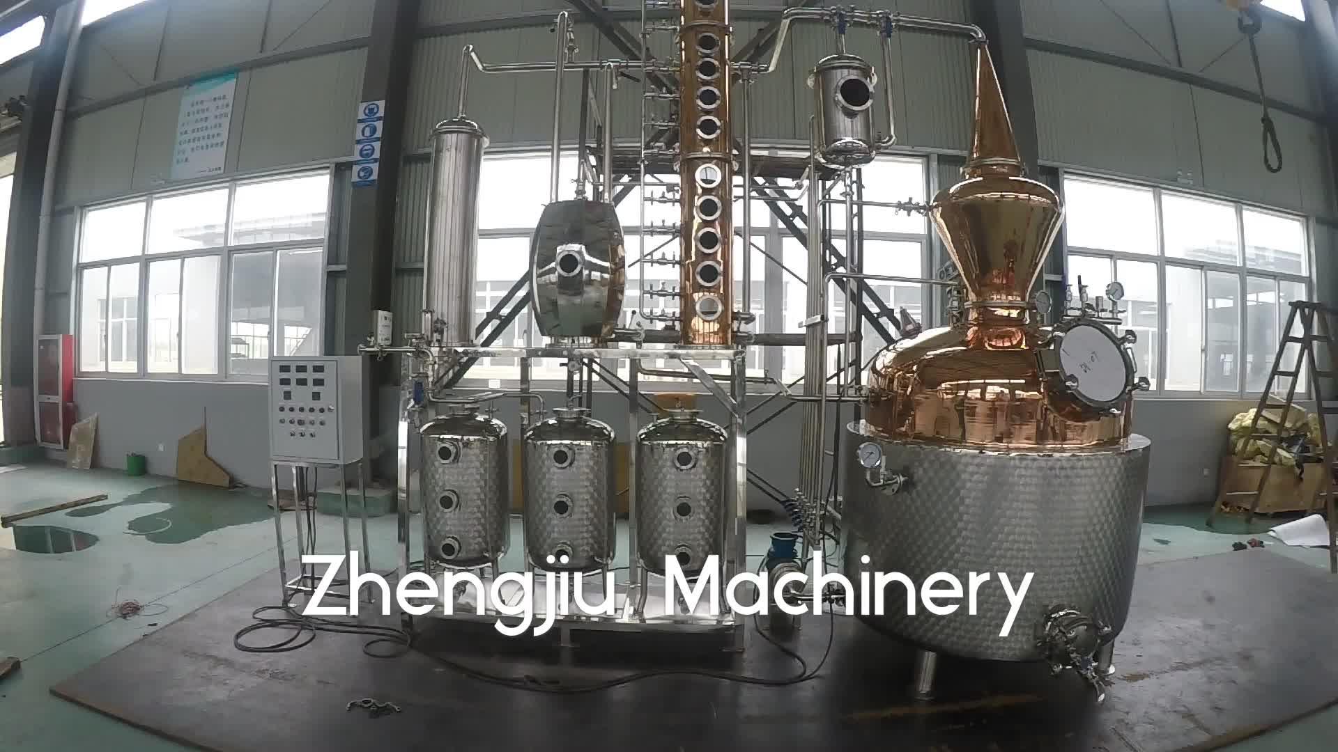 शराब आसवन उपकरण जिन अभी भी आसवनी संयंत्र ginebra destilacion