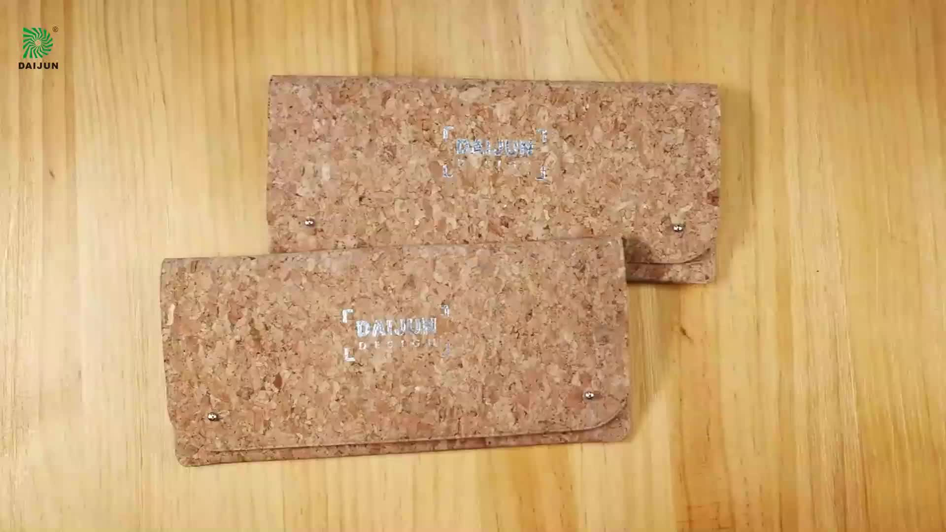 Custom Cork travel organizer wallet passport cover holders with your own designs