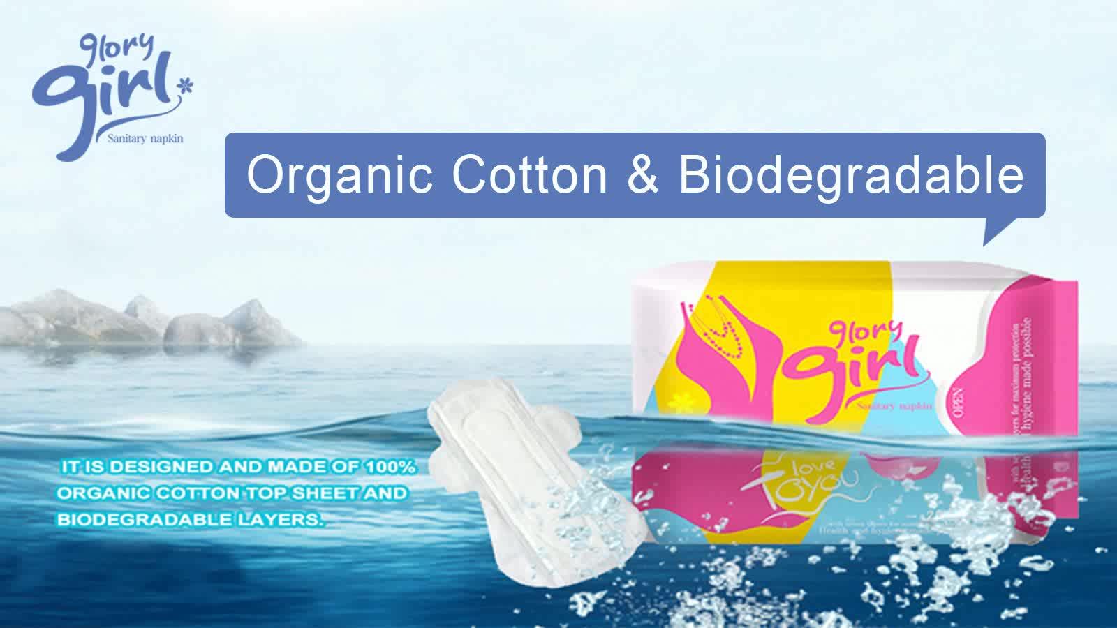 Free Sample Natural Soft Care 100% Organic Cotton Menstrual Fc Bio  Biodegradable Women Pad Sanitary Napkin - Buy Bio Sanitary Pads,Pads  Sanitary