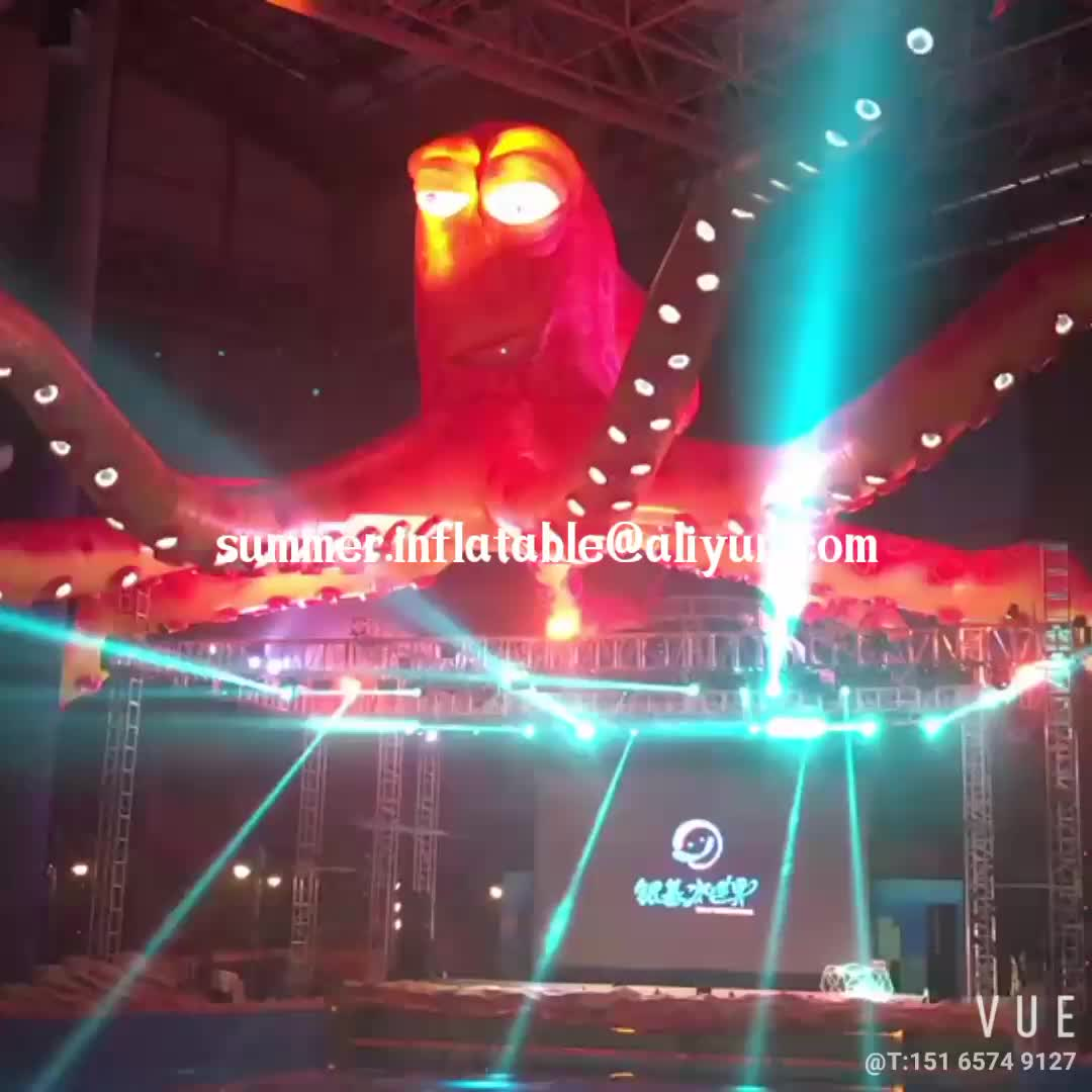 New brand Event stage decoration Giant Inflatable Octopus