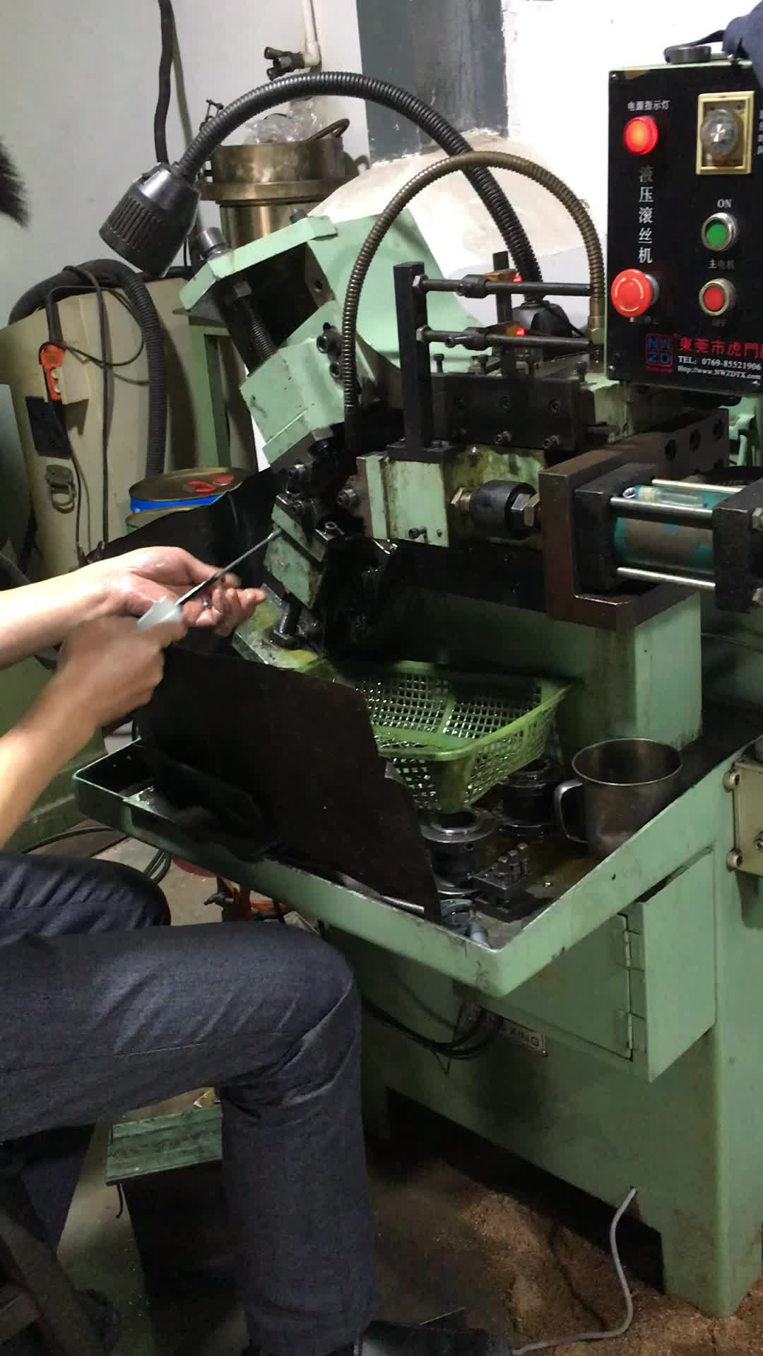 white nylon thread standoff OEM factory make POM screw insert bolt customized POM plastic parts