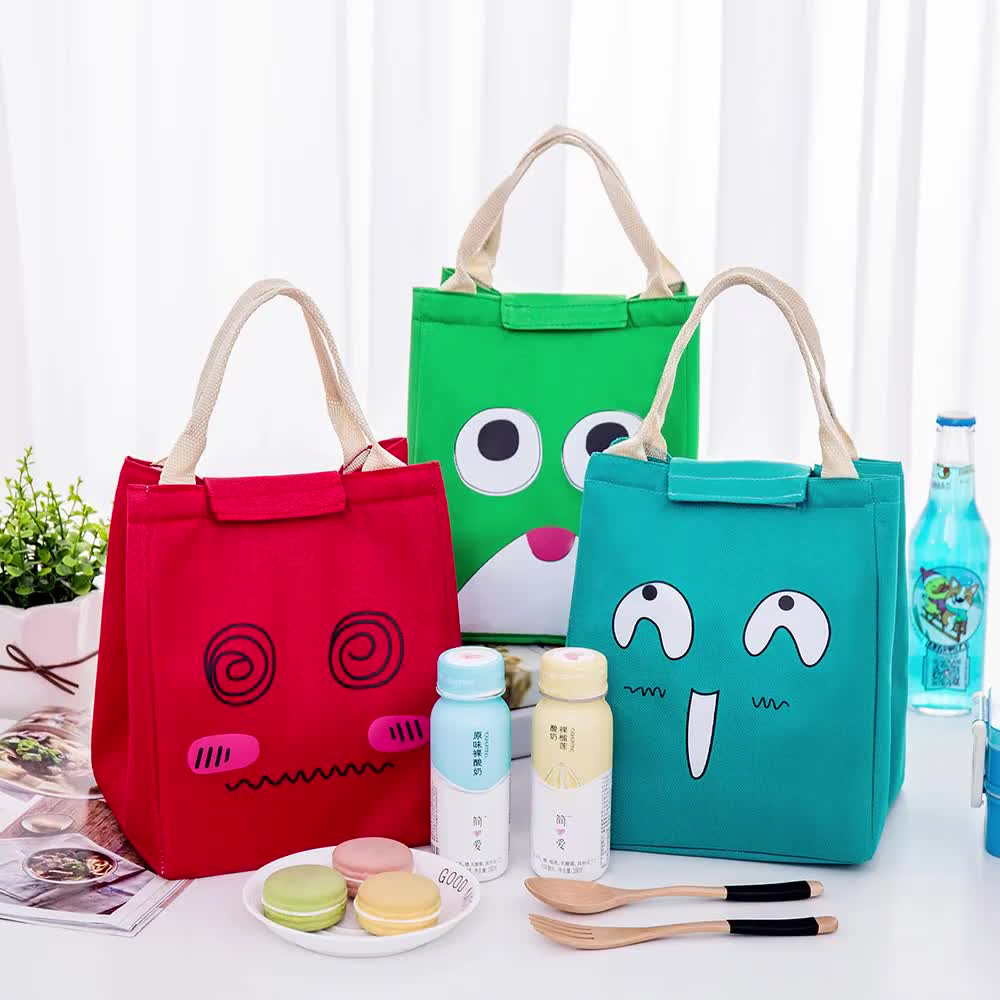 Waterproof Women Travel Insulated Tote Picnic Storage Bag Thermal Lunch Bag
