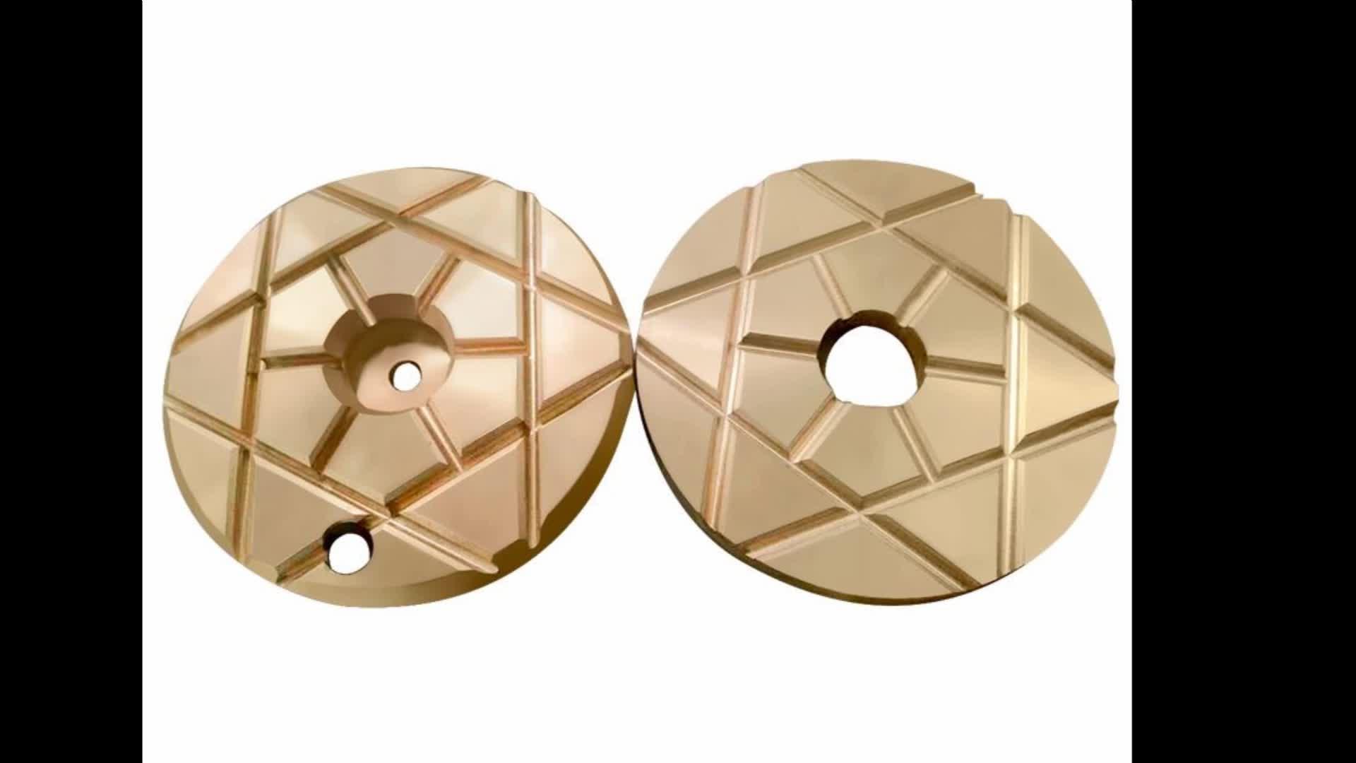 Triturador de cone peças placa de impulso de baixa fricção disco personalizado como a exigência padrão tipo fino