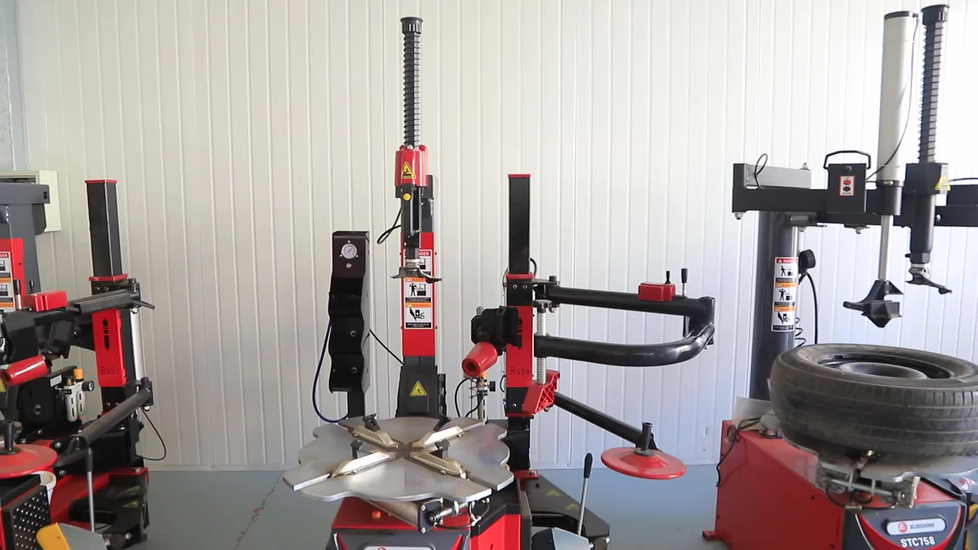 آلة توازن العجلات S808 ، شهادة CE ، موازن عجلات