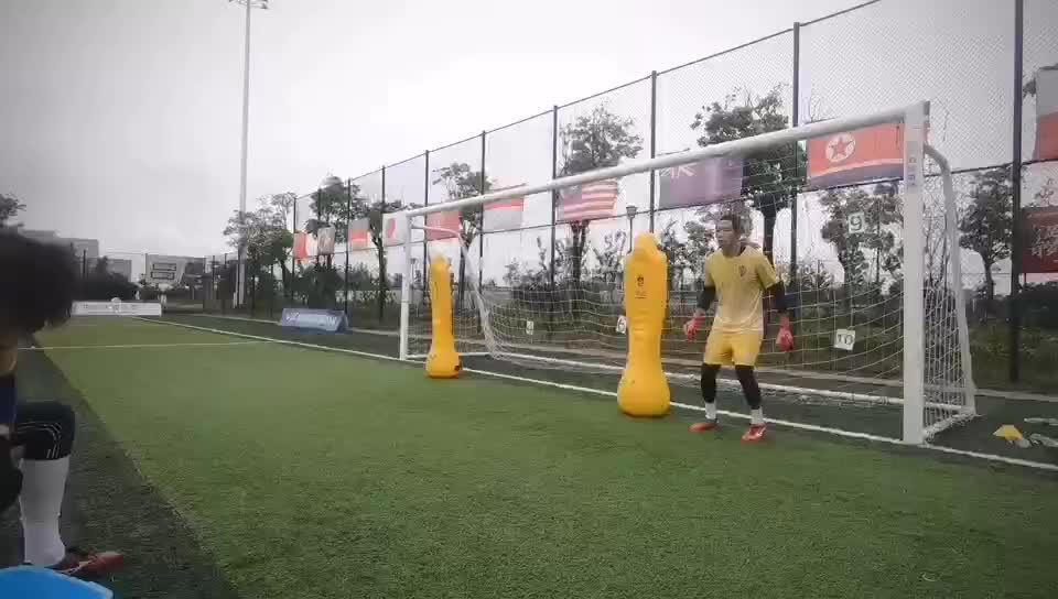 inflatable soccer mannequin soccer training equipment