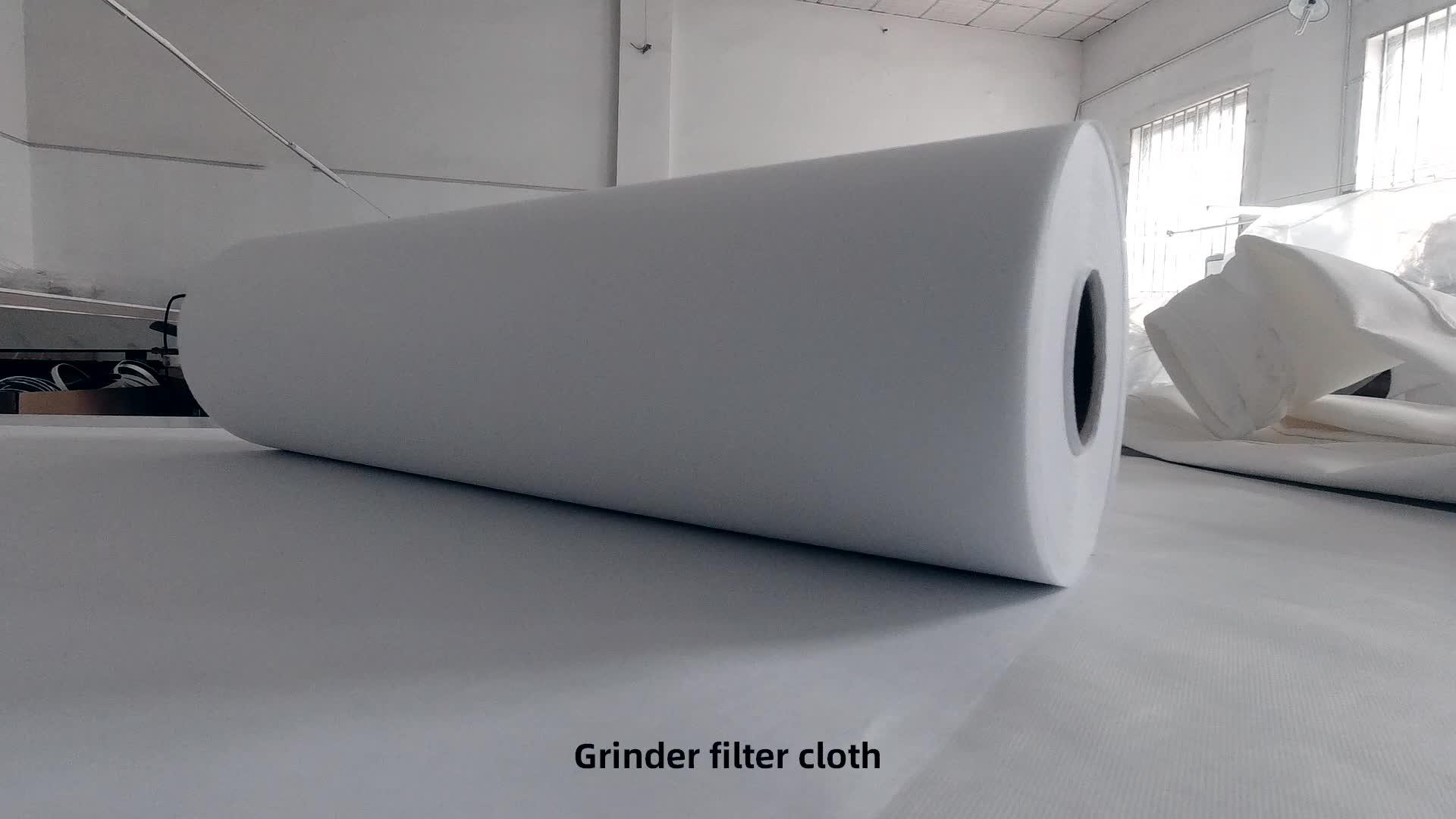 Eau industrielle haute résistance à la traction de tissu filtrant