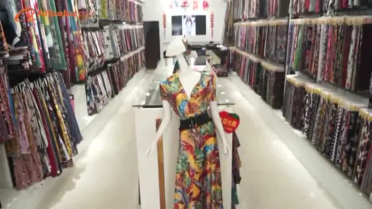 Online winkelen mooie zachte gevoel groothandel kleding pure chiffon tetron stof