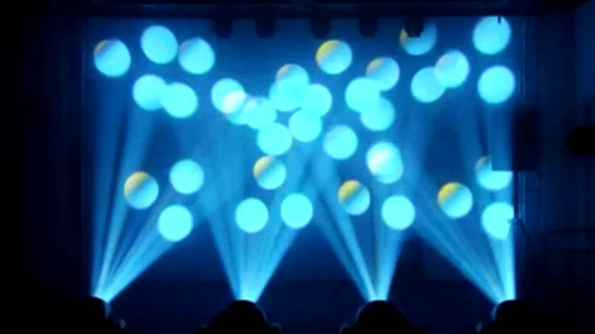Hot Sale 60W White LED Spot Moving Head Light