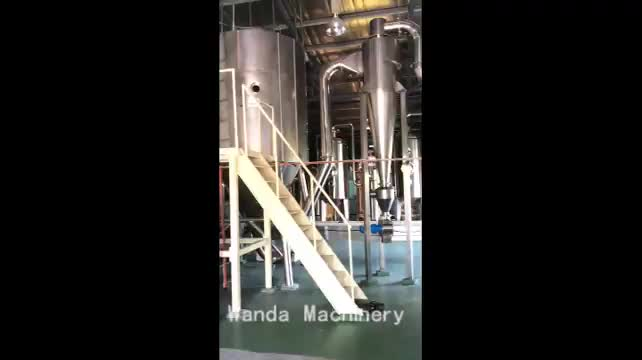 High speed spray drying equipment for industrial and chemical spray dryer