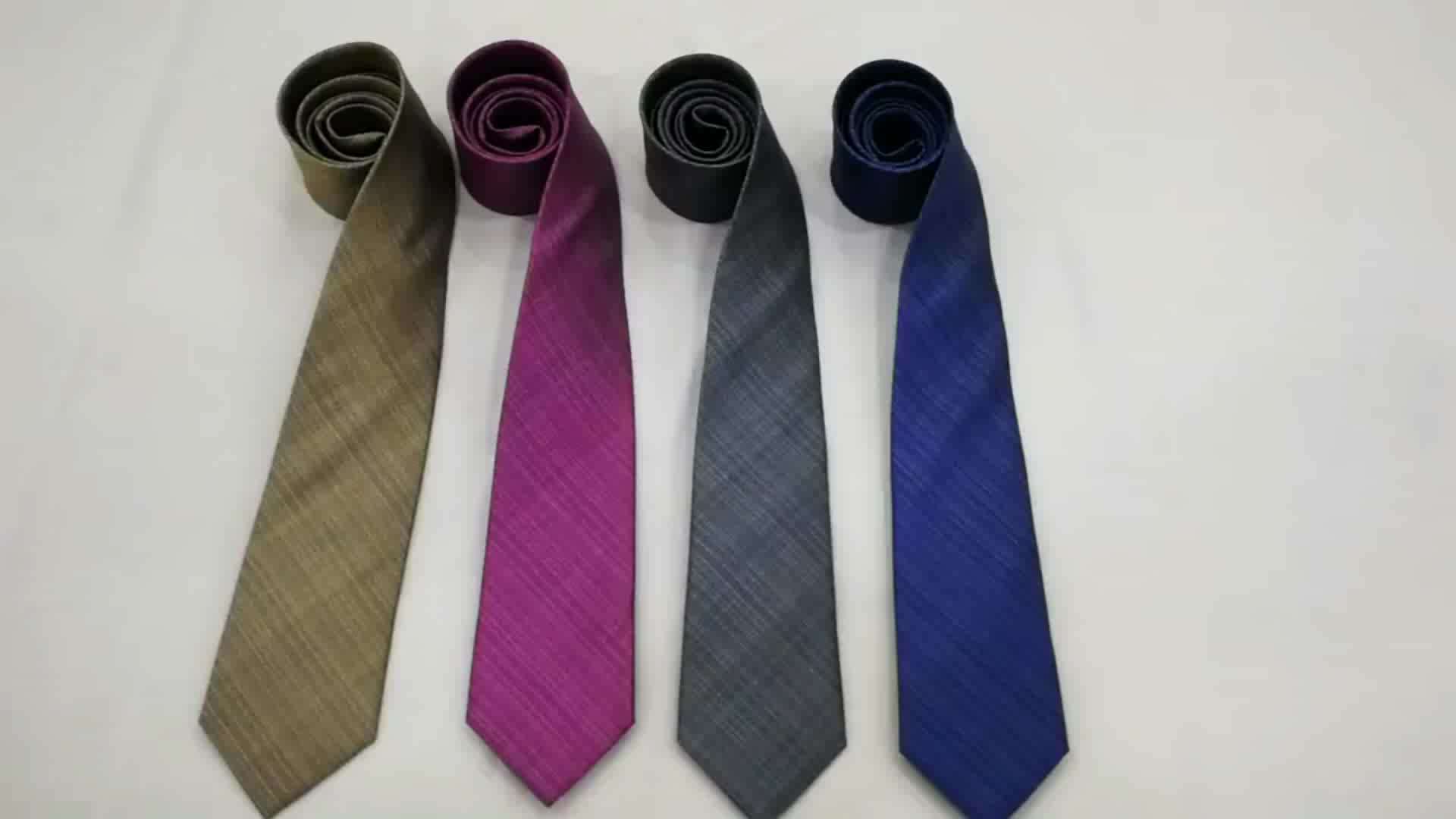 Custom Wholesale High Quality Floral Pattern Necktie Knitted Tie