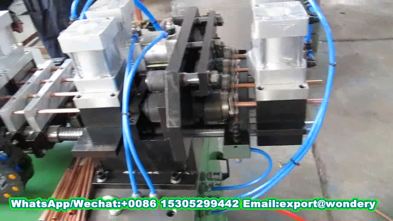 Copper Tube Straightening and Cutting Machine for HVAC Application