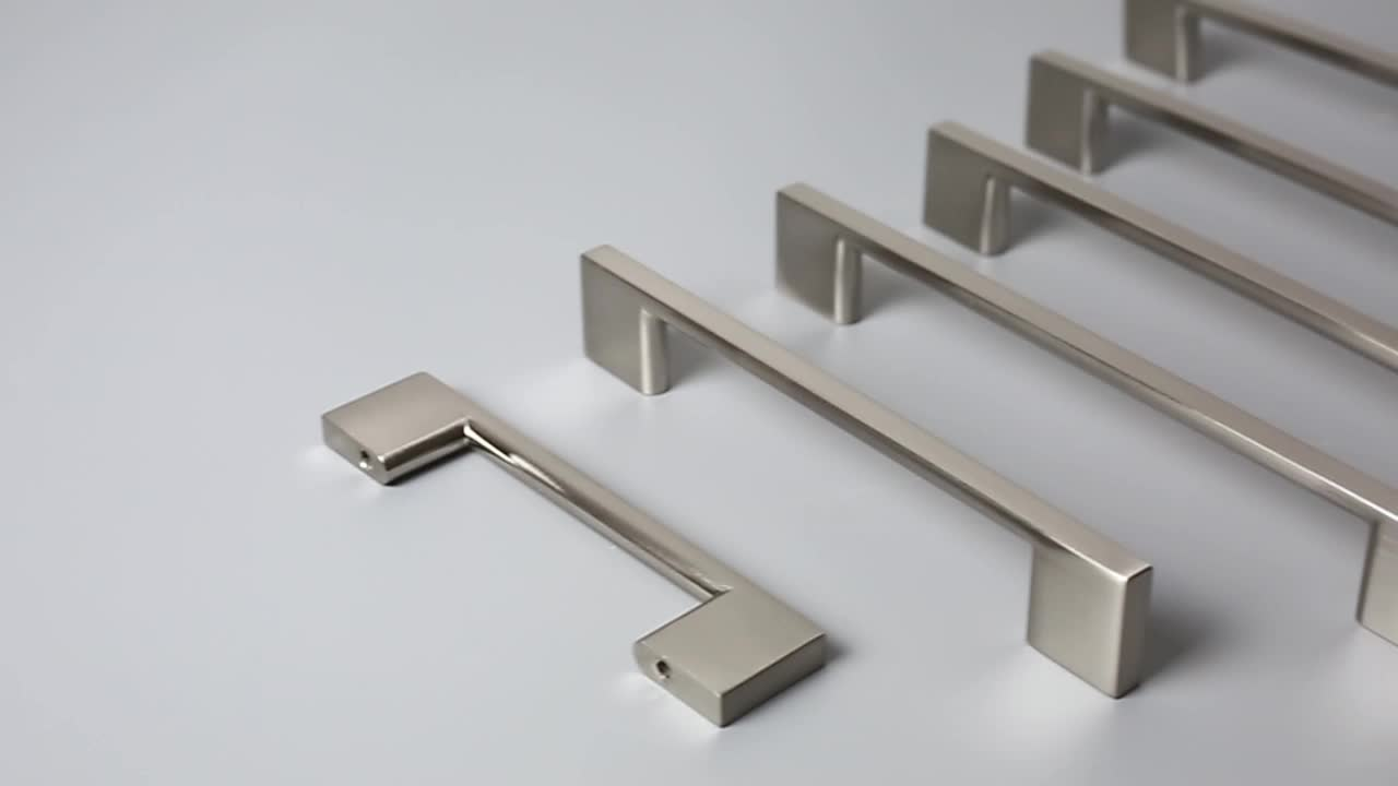 2008A Famous furniture handle modern design unique cabinet pulls handle