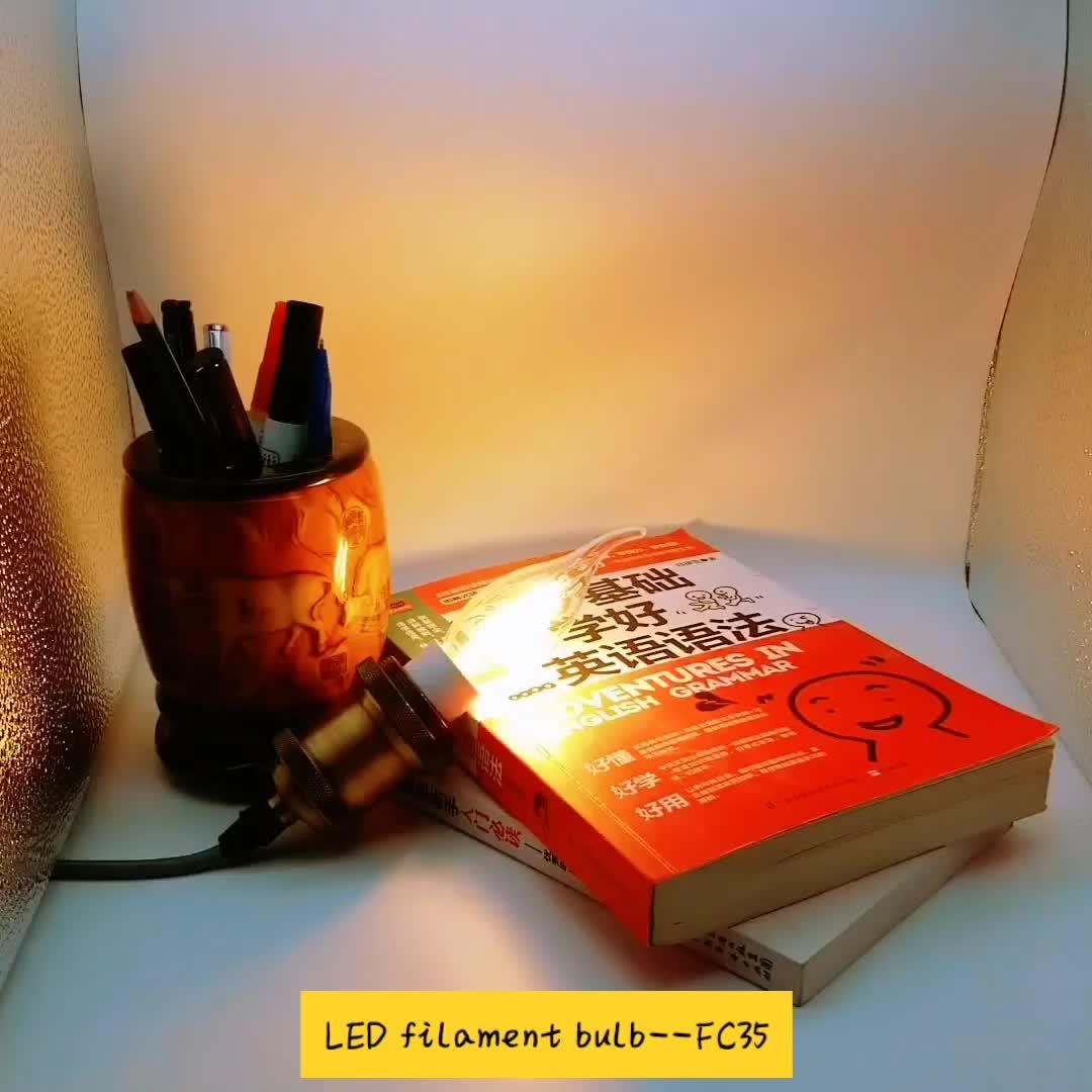 E14 led filament mum ampul 110 V/220 V yüksek kalite 2 w 4 w kısılabilir filaman