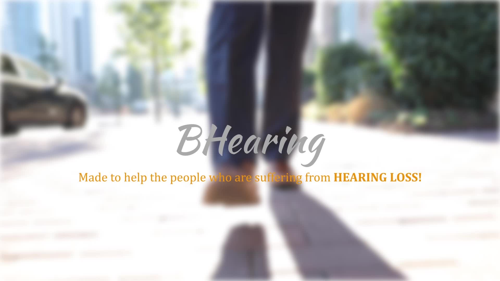 Bluetooth Personal Hearing Sound Amplifiers Jabees BHearing Smart self-fitting PSAP