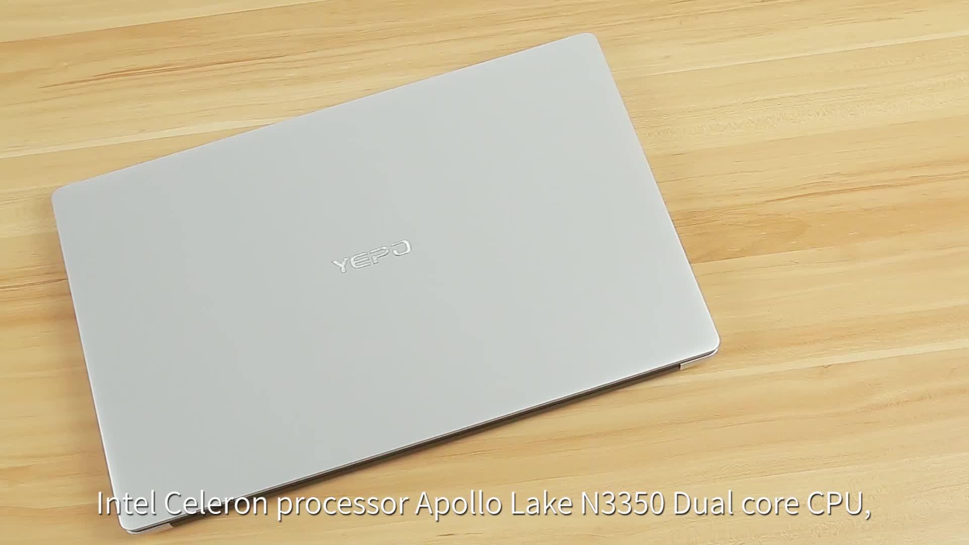 โรงงาน Store 15.6 นิ้ว Intel Celeron J3455 RAM 8GB 128GB SSD ราคาแล็ปท็อป