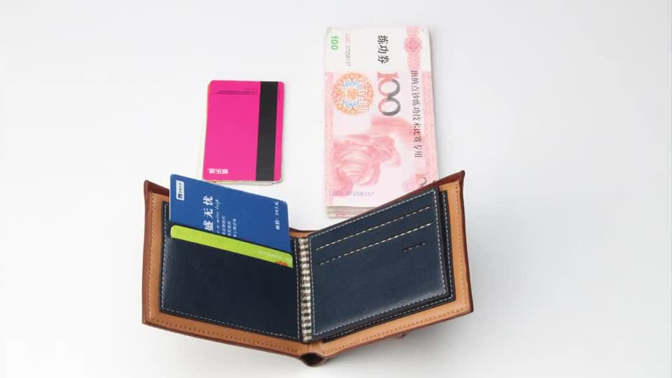 Wholesale best selling 2019 new fuerdanni short style Nubuck PU leather men's Vintage wallets,coin purses for man