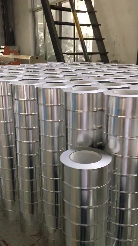 China Factory Direct Sale 0.5M Thick Adhesive Aluminium Foil Tape