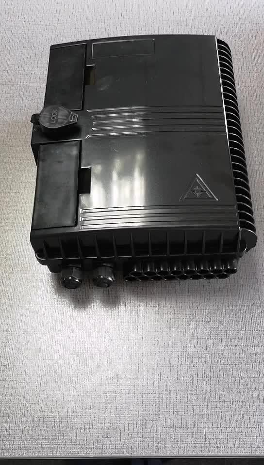 FTTH 16 core outdoor fiber optic distribution PLC splitter CTO box waterproof IP66 fibra optica