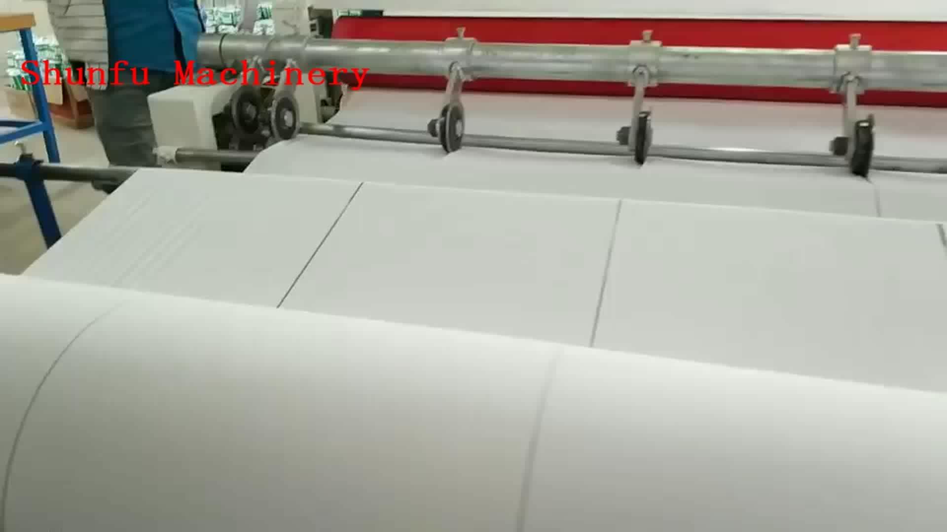 Bobine de haute qualité pour le rouleau de papier toilette, machine à refendre