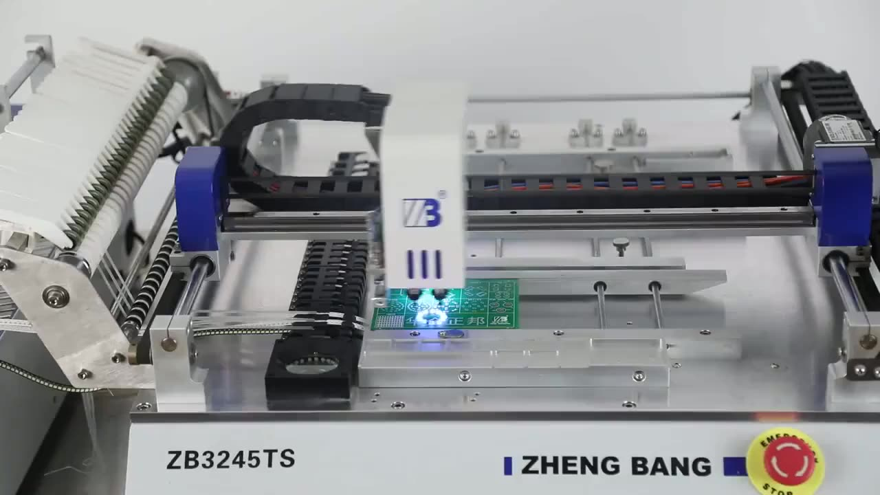 New High Performance smt pick and place machine for LED PCB Making Machine LED Bulb Chip Mounting Machine