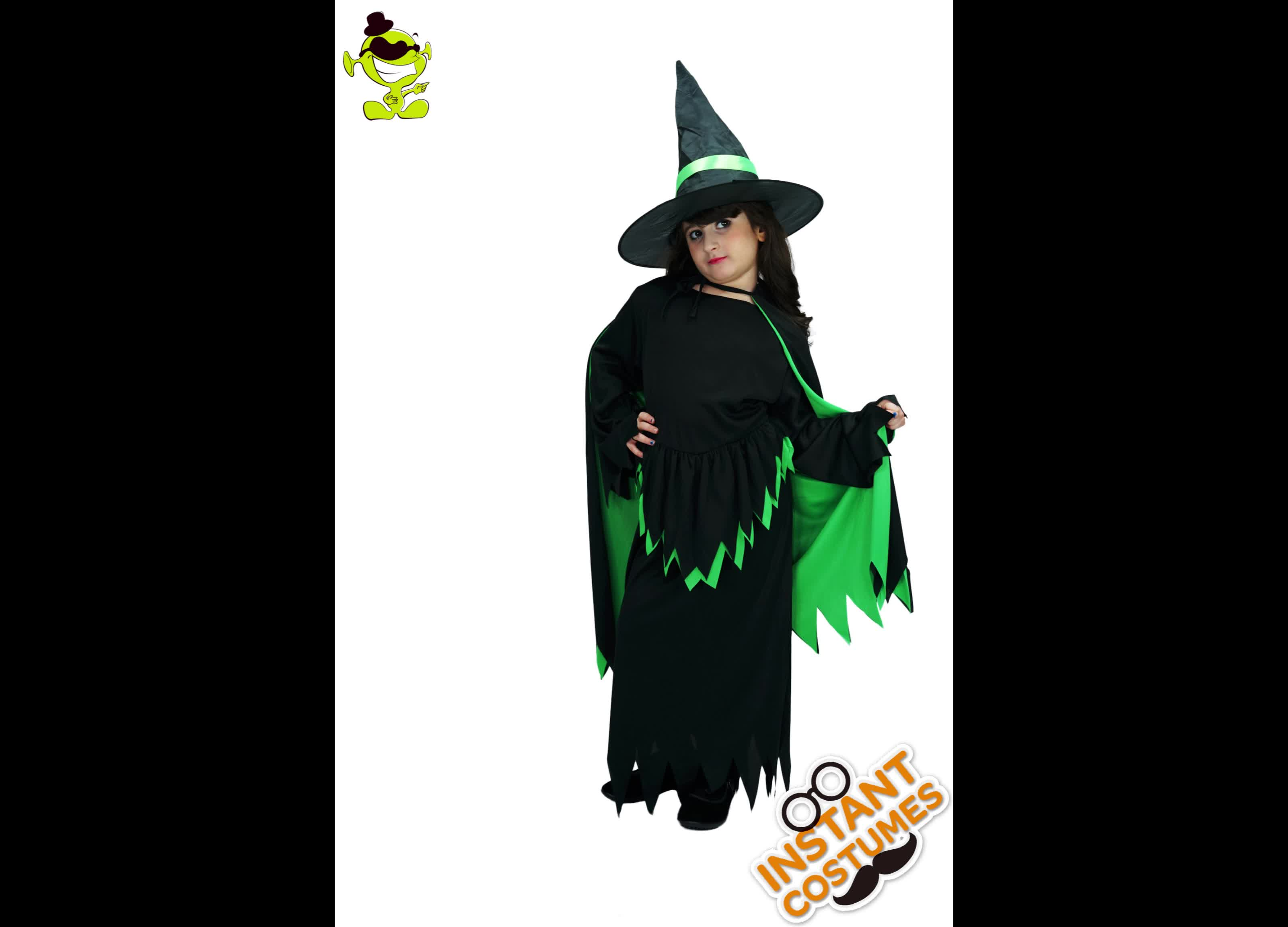 hot girls wicked witch costumes with cape halloween masquerade party