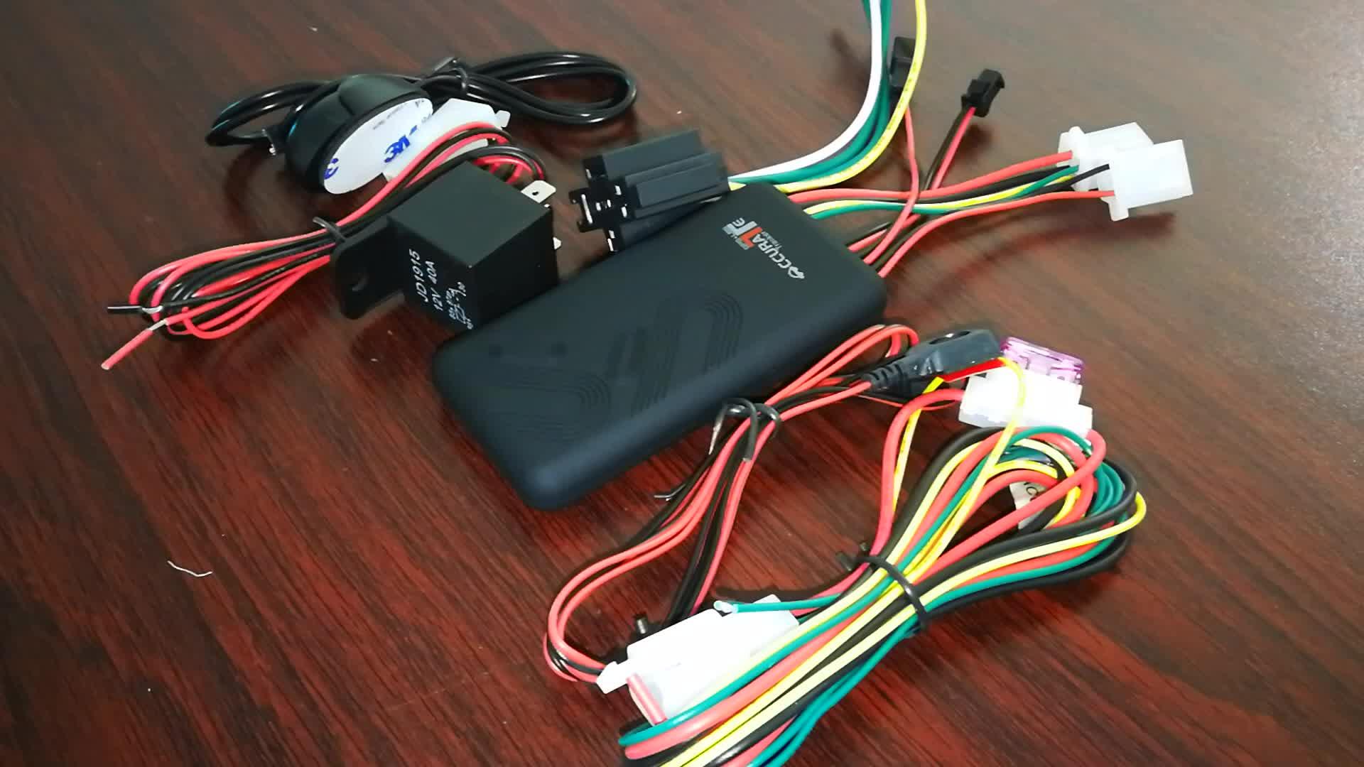 Car Truck GPS Tracker 와 External SOS Button 배터리 GPS Tracker 차량 WCDMA 3 그램 gps tracker 2 way 통신