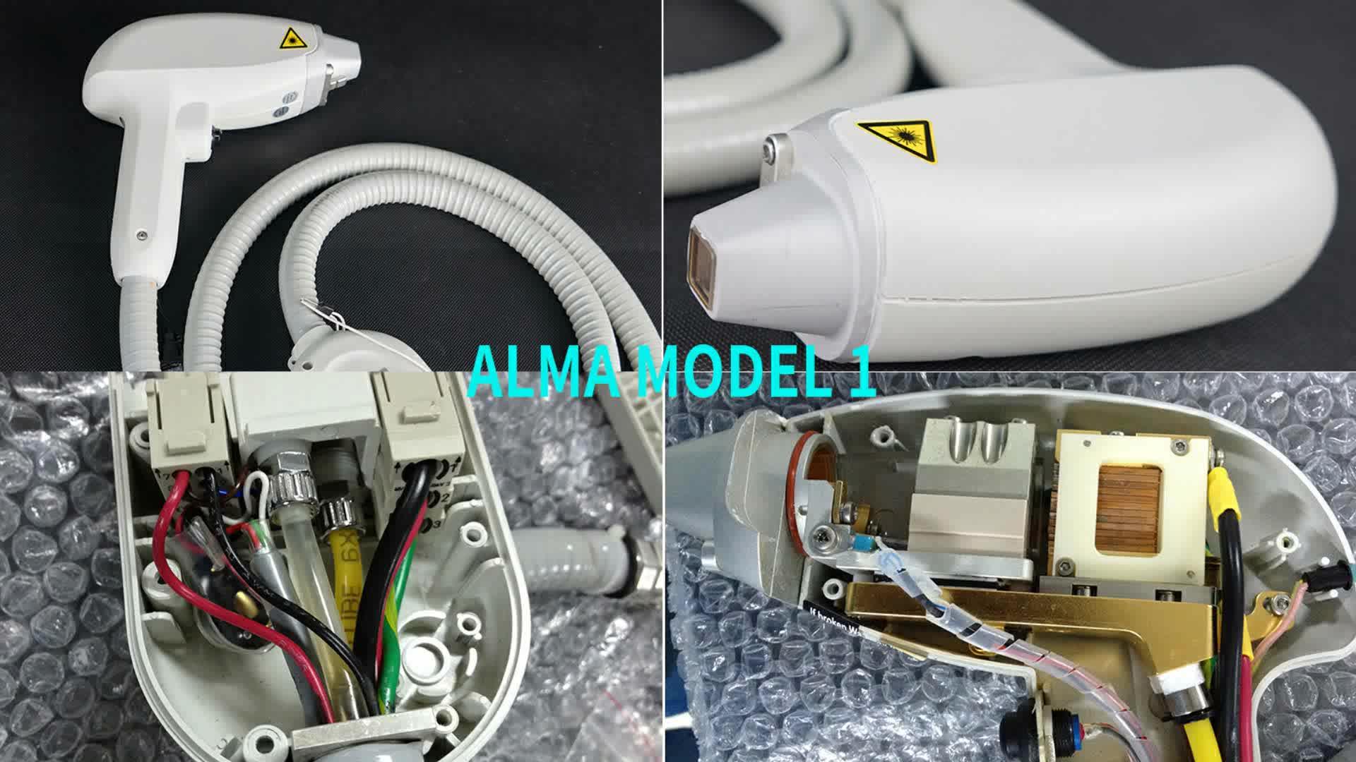 ソプラノ氷母校レーザーハンドピース修理/808nm 母校ソプラノ氷プラチナダイオードレーザー修正