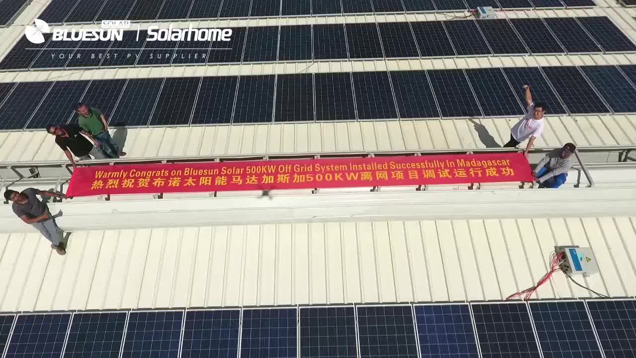 Bluesun China Manufacturer Germany Solar Panels Q Cell