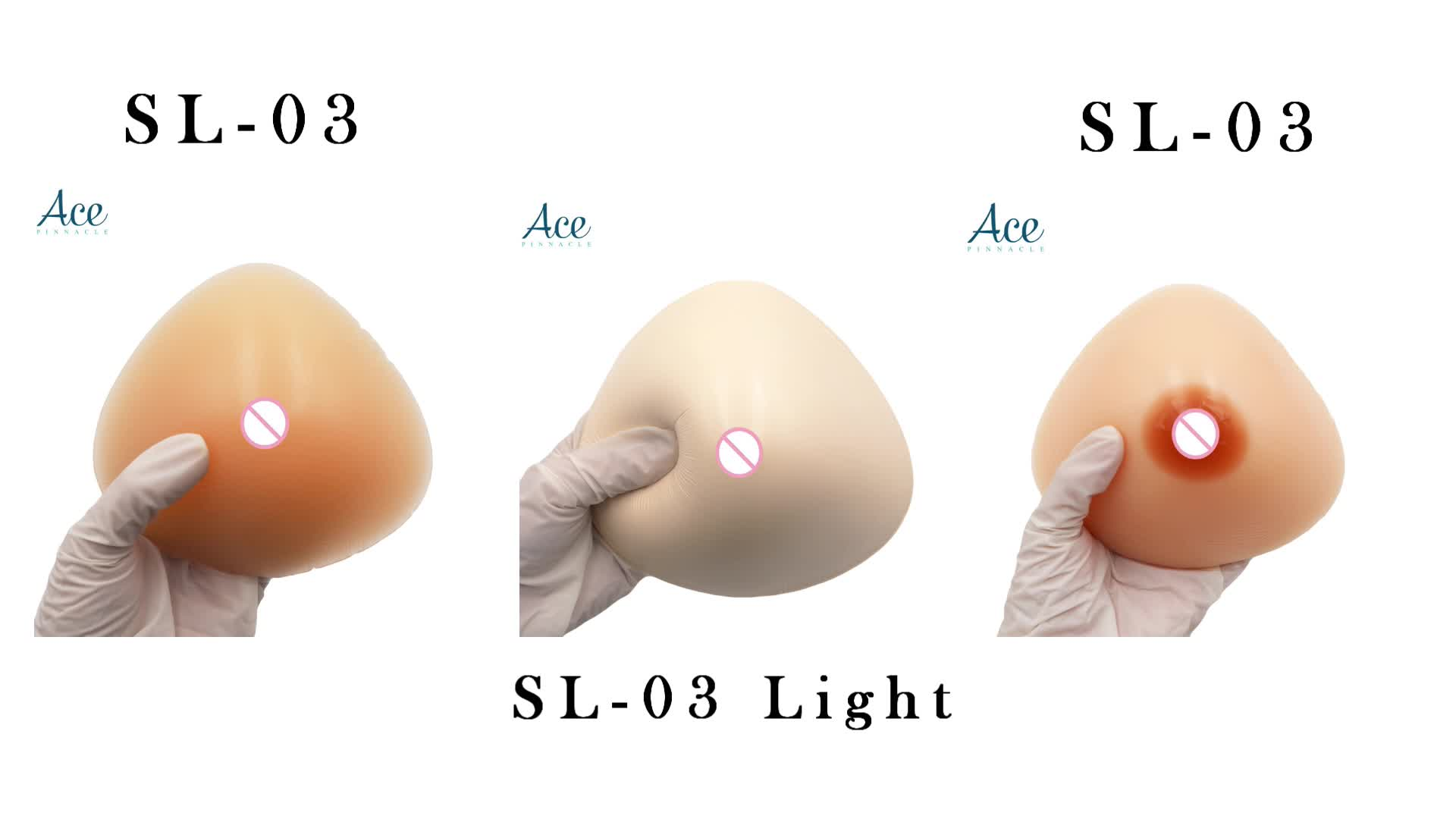 135 g light weight Mastectomy Prosthesis Armpit Extension Postoperative Silicone Breast Forms for Breast Surgery Cross dresser
