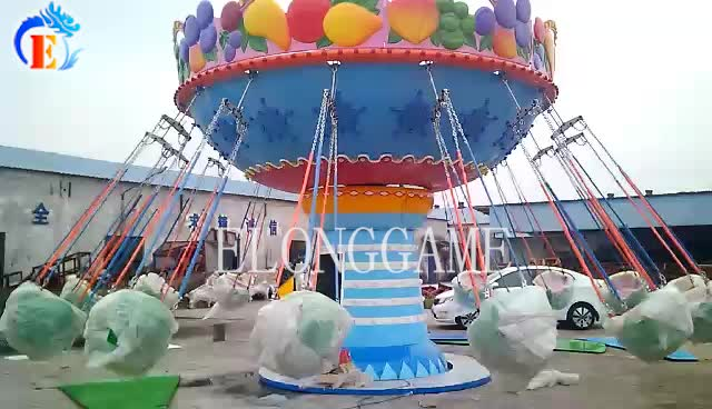 Fruit whirlwind amusement park equipment for children for sale