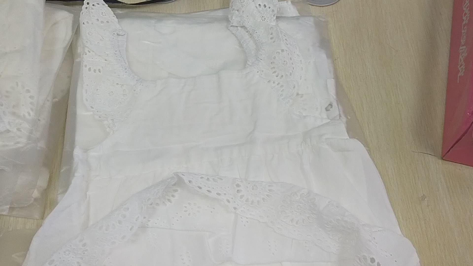 ผู้จัดจำหน่ายเด็กเสื้อผ้าเด็กสีขาวเสื้อคลุมหลวมขายส่งมาเลเซีย