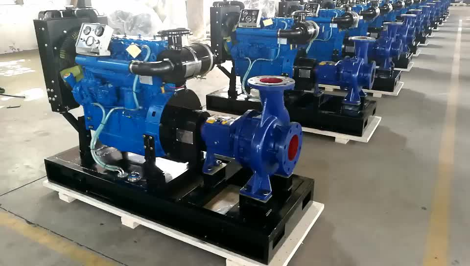 Agricultural Irrigation 4 Inch Diesel Water Pump With High Quality and Best Price