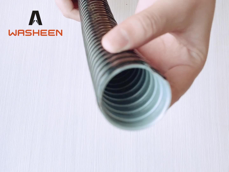 Calda Promozionale di metallo ondulato rivestito IN PVC flessibile Impermeabile tubo vuoto per Filo Cavo di Protezione