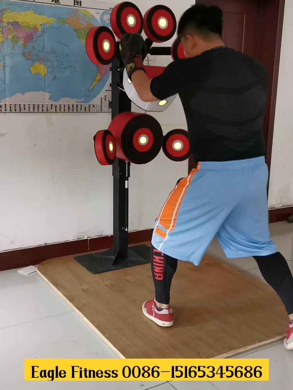 Fitness apparatuur gym commerciële enkele gebruik mitts verstelbare boksen stand station