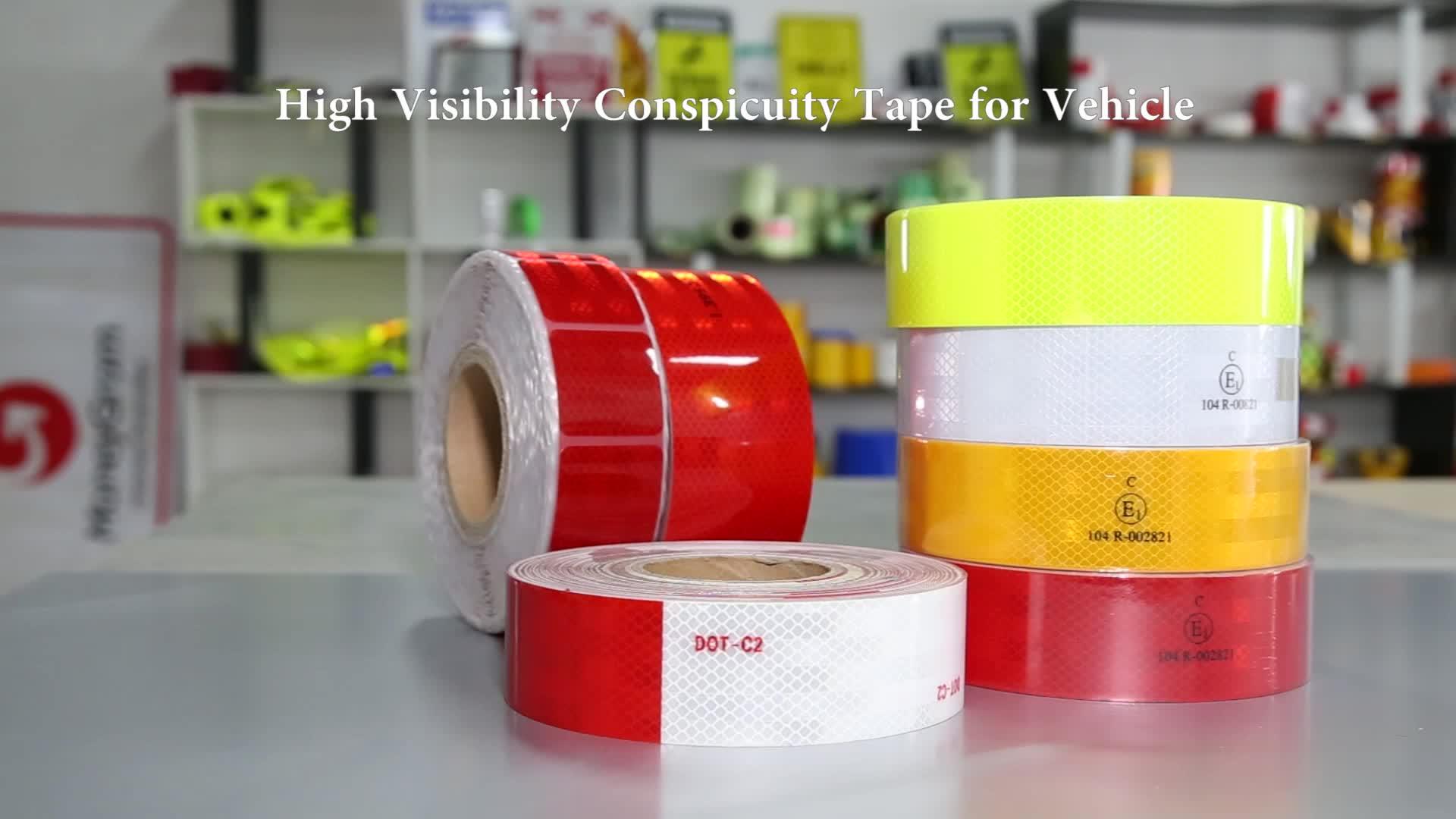 Prismatic 3m retro reflective vinyl sticker material tape film
