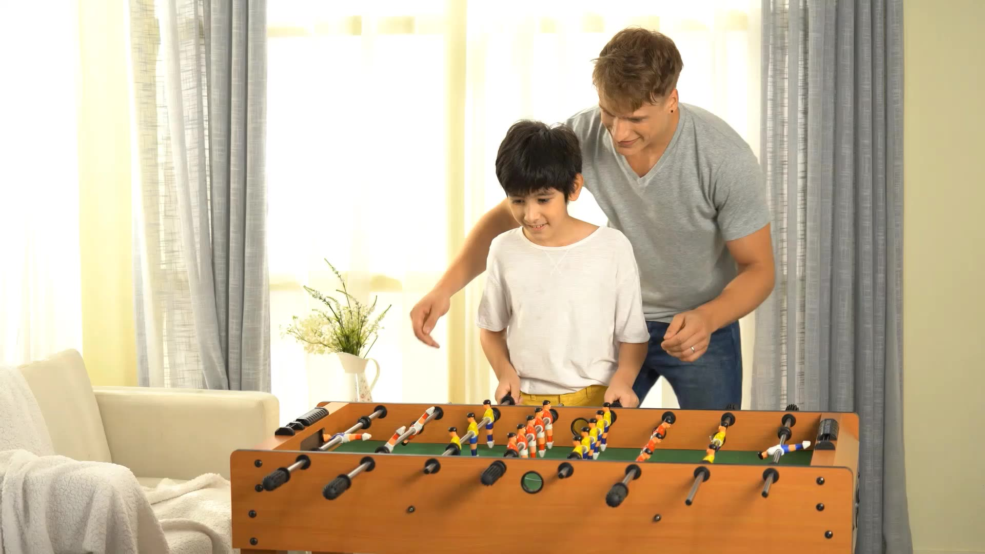 Professional Wooden Football Board Wholesale Factory Price Adults Children Game Soccer Table