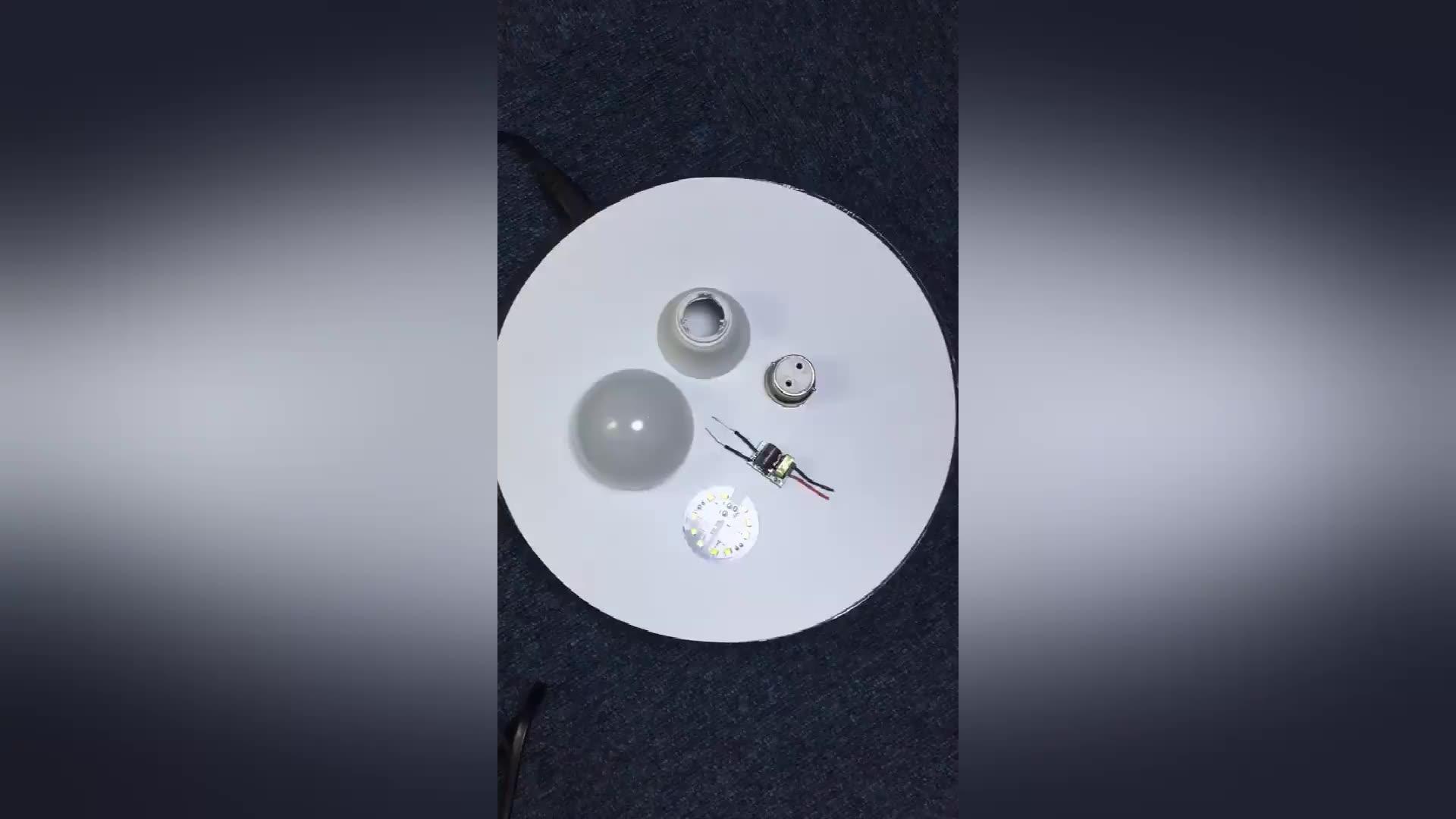 china led manufacturer raw material skd 3w 5w 7w 9w 12w 15w 18w led bulb light e27 b22 e14