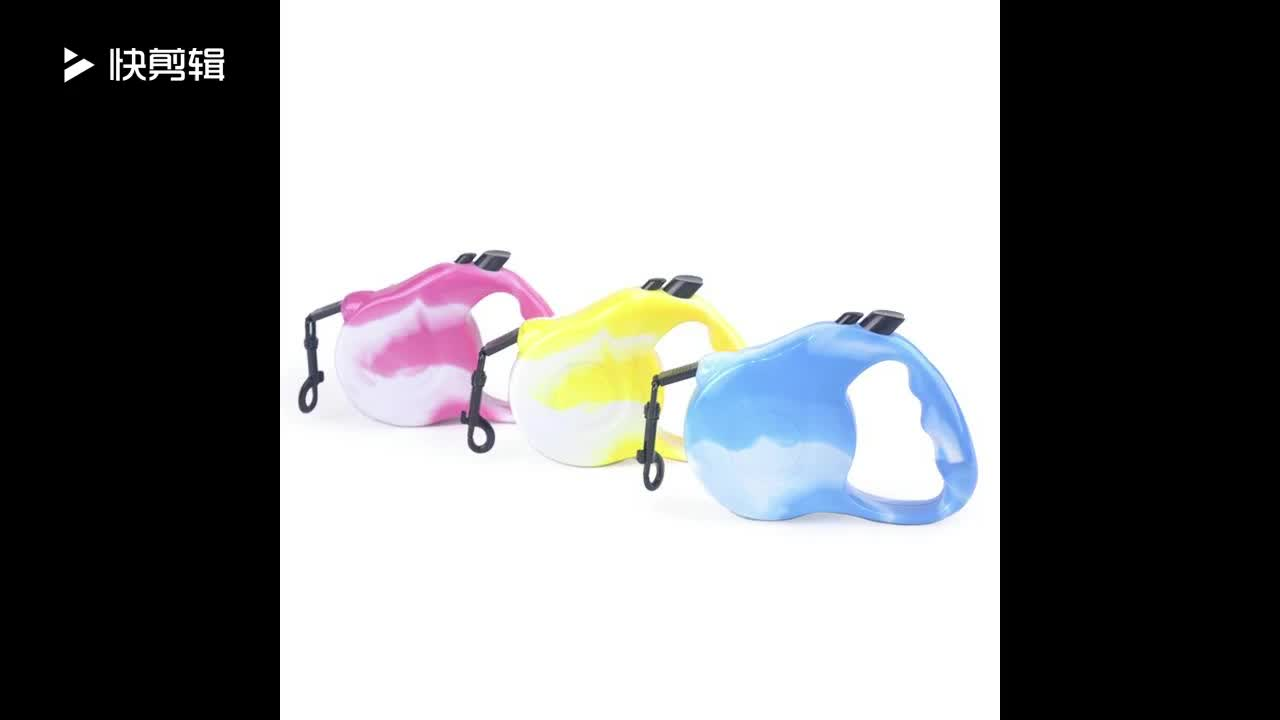 New Design Pet Product Nylon Custom Hands Free Retractable Belt Dog Leash