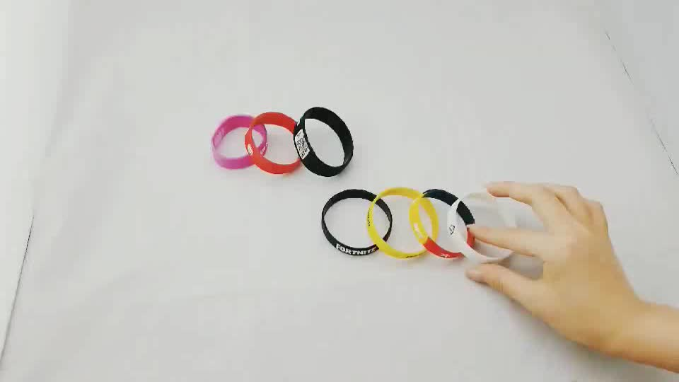 Fashion Silicone Wrist Band Customized bracelet rubber band