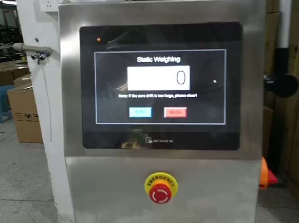 High Accuracy Checkweighers with Connection Network