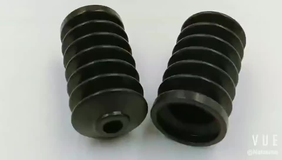 Resist Oxidation Mechanical Class Automotive Car Rubber bellows