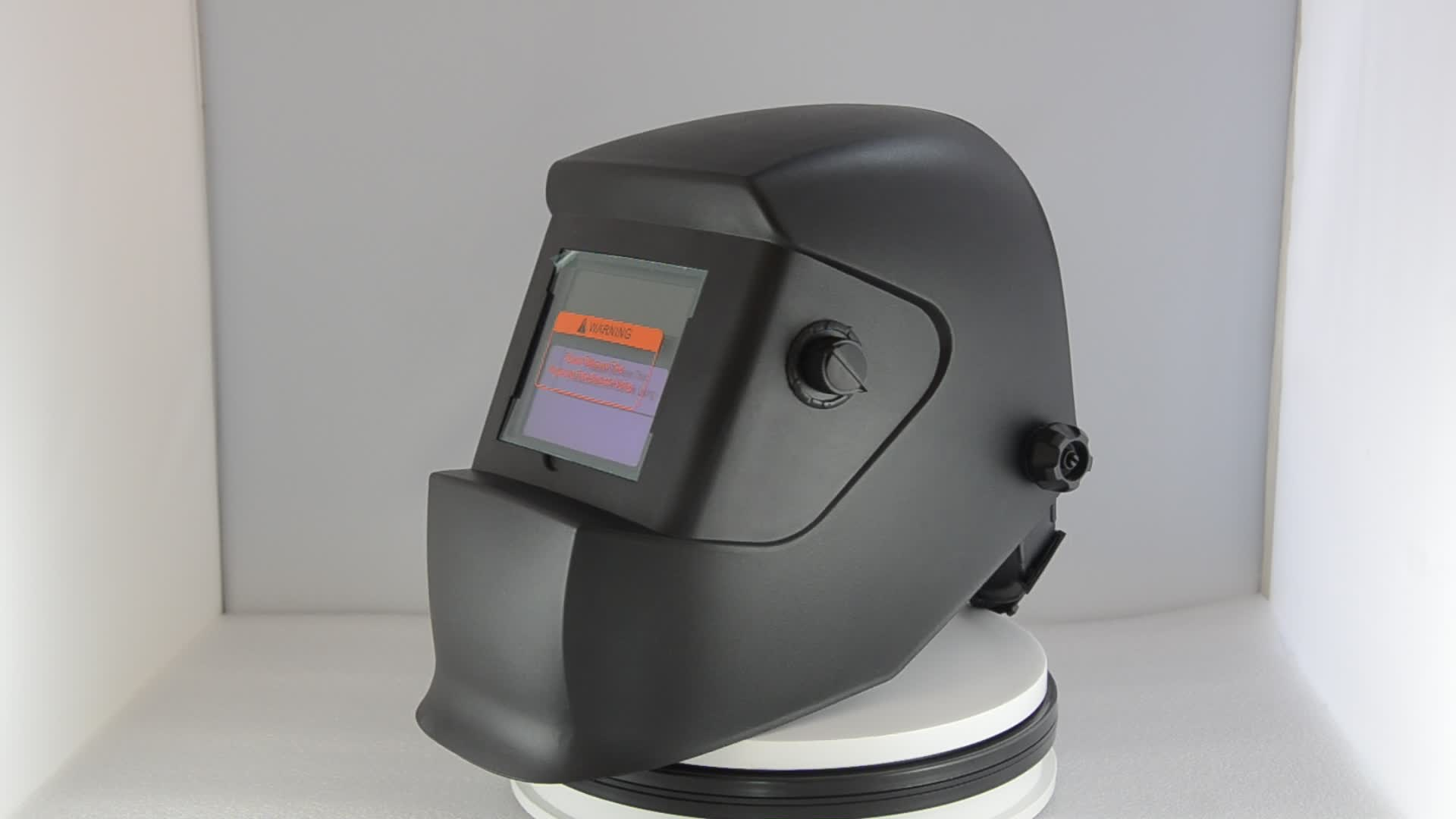 auto darkening polishing welding helmet en379