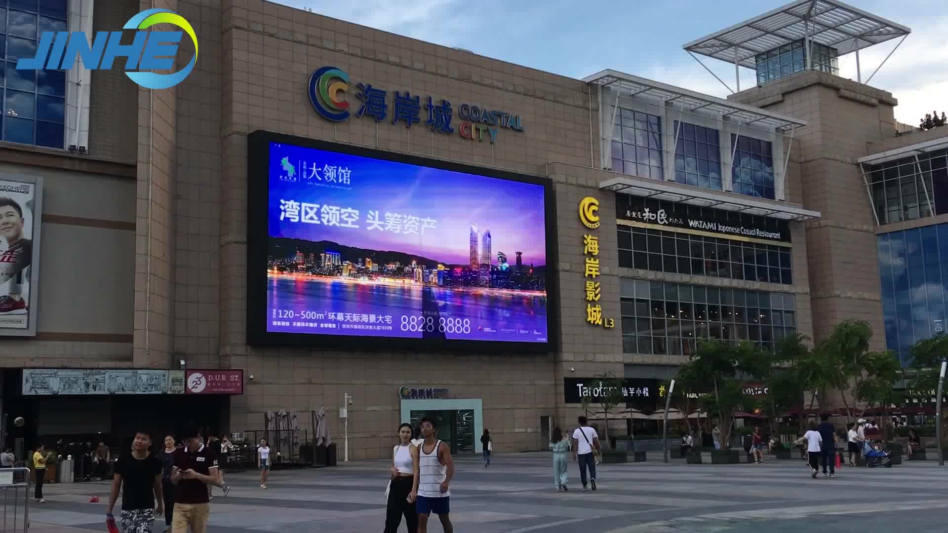 Outdoor/Indoor LED P3 P4 P6 P8 P10 Video Wall Display Screen With Wholesale Price