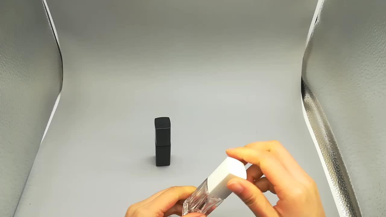 Auf Lager 5ml Schlank Klarglas Leere Nagellackflasche für die Nagelpflege